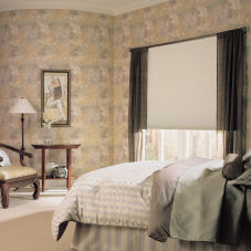 "M&B Honeycomb 3/8"" Single Cell Blackout Shades room scene"
