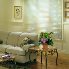 "M&B Arabesque 2-1/2"" Window Shadings room scene"