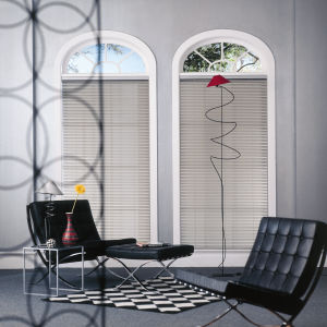 "M&B Premium 1"" Aluminum Blinds Room Setting"