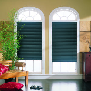 "M&B Essentials 1""  Aluminum Blinds Room Setting"