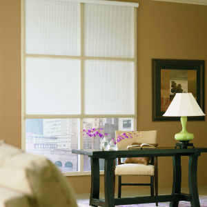M&B Roller Shades Room Setting