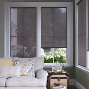M&B Solar Shades Room Setting