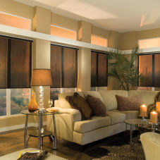 Large window blinds shades roller shades for Bali motorized blinds programming
