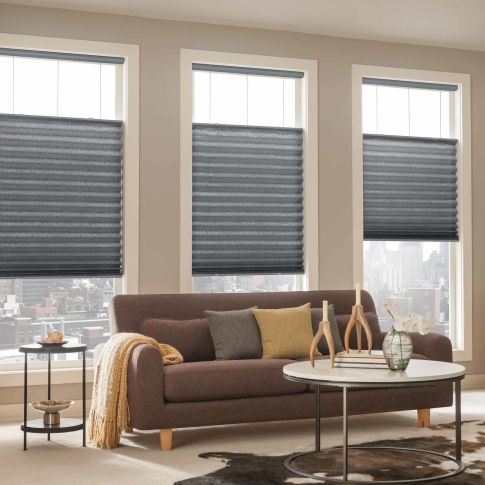 Bali NeatPleat Room Darkening Shades Room Setting