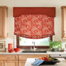 Bali Tailored Relaxed Roman Shades
