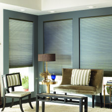 BlindSaver Double Cell Cordless Cellular Shades room scene