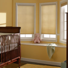 BlindSaver Advantage Light Filtering Shades room scene