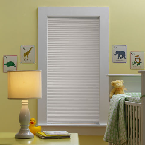 BlindSaver Basics Blackout Cellular Shades Room Setting