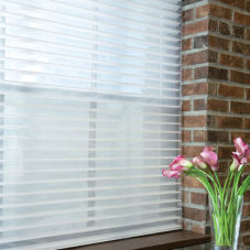 "BlindSaver Basics 2"" Window Shadings room scene"