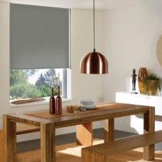 BlindSaver Basics Vinyl Blackout Roller Shades