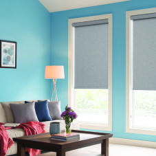 BlindSaver Advantage Roller Shades room scene