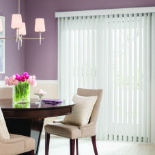 BlindSaver Advantage Vertical Blinds room scene