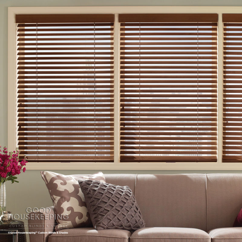 faux size wood blinds l actual blind p home collection in x w white decorators