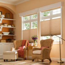 Graber CrystalPleat Light Filtering Cellular Shades