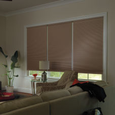 "Levolor Custom 7/16"" Double Cell Blackout Shades"
