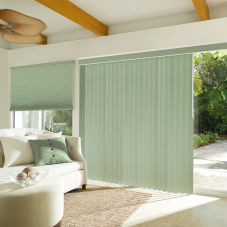 Levolor Custom S-Curve Vertical Blinds