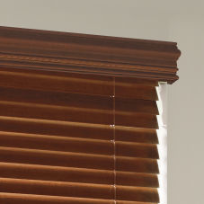 "Levolor Traditional 4-1/2"" Rope Wood Cornice"